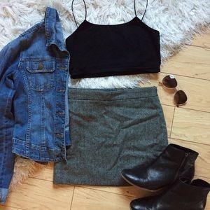 3 for $22 🌟 Herringbone Mini Skirt